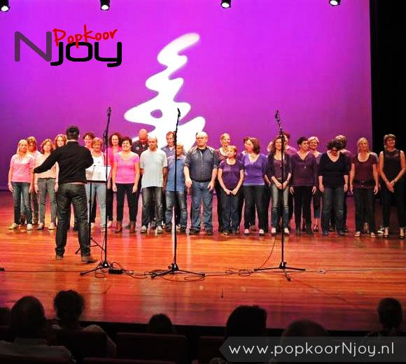 Popkoor Njoy Breda - Optreden KAM Chassé Breda - september 2014