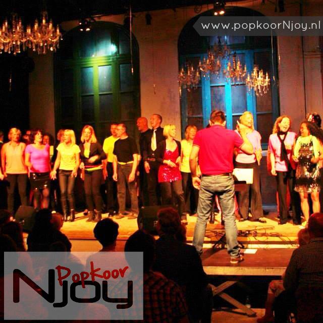 Popkoor Njoy Breda - TENjoy Para Breda- ter gelegenheid van 10-jarig bestaan - juni 2013