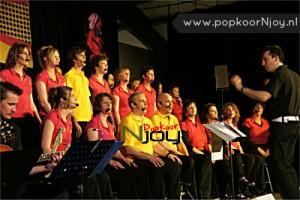 Popkoor Njoy Breda - Optreden LEF! 2010