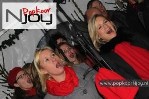 Popkoor Njoy Breda - Optreden bij WinterWonderBeek (Prinsenbeek) - december 2015